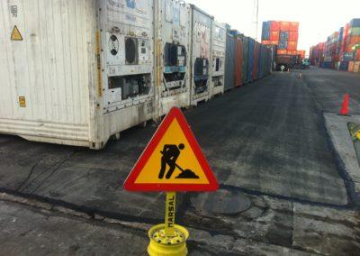 Paviments per a gran tonatge Port de Barcelona