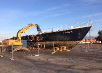 Desballestament d'un Vaixell