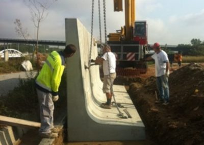 Murs Prefabricats Sant Fost