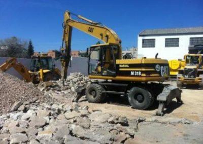 Demolicions de naus industrials a Granollers